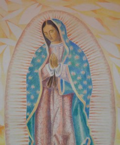 Our Lady of Guadalupe Fresco