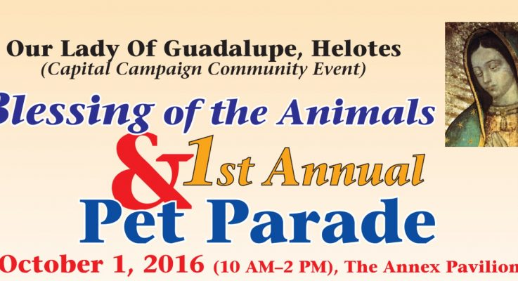 2016 Blessing of Pets Parade