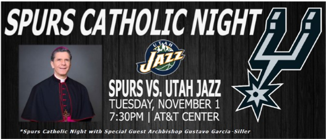 Catholic Night with the SPURS