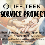 Life Teen Service Project