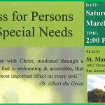 A Mass for Persons with Special Needs