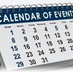 December Calendar of Events Flyer