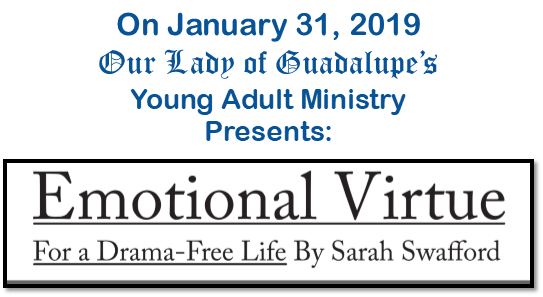 Speaker Series: Emotional Virtue with Sarah Swafford