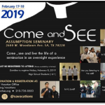 Vocations – Come & See