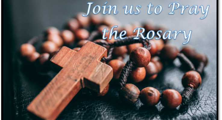 Rosary Rally on Sept. 26, 2020
