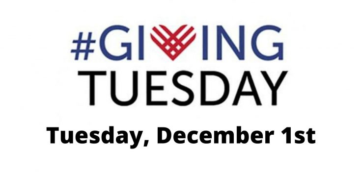 Giving Tuesday – Dec. 1